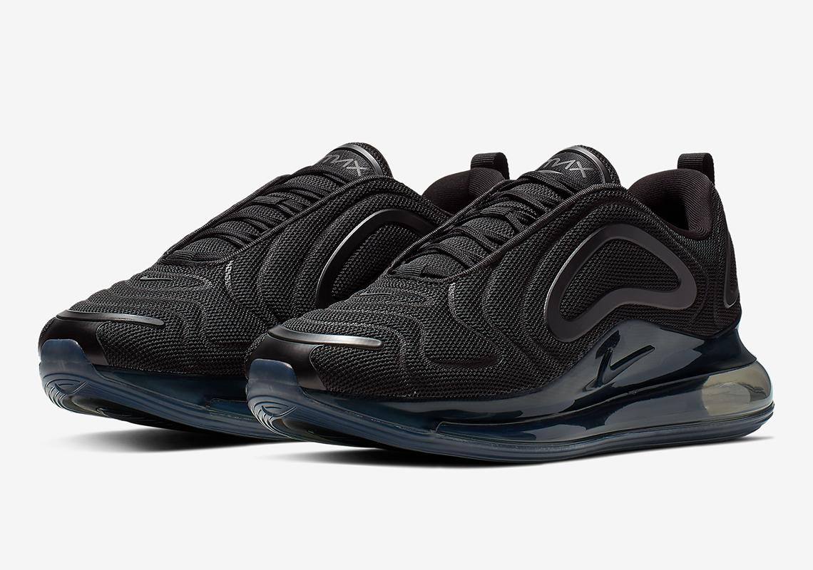 "The Nike Air Max 720 ""Triple Black"" Releasing Soon | KAZI"