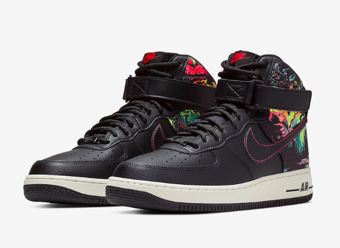 The Nike Air Force 1 High Arrives In New Floral Print Kazi Magazine